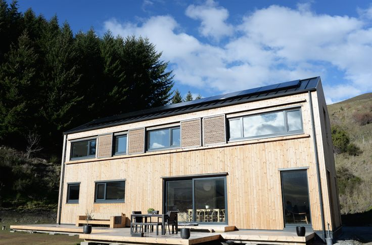 Climate House, Passive House, Thermorary cladding, Build me