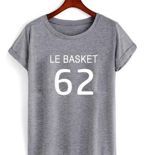 Le Basket 62 quote Tshirt gift adult unisex custom clothing Size S-3XL //Price: $11.99  //