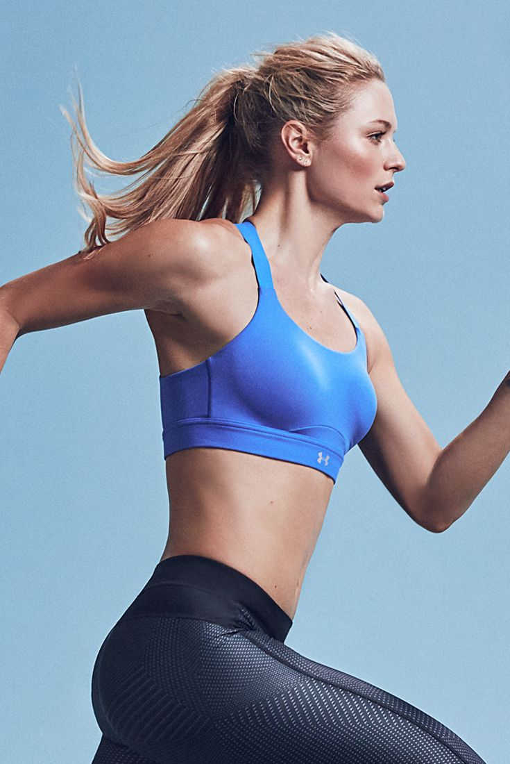 You push yourself to the limit…and you need a sports bra that works just as hard as you do. But it has to look good too. Armour Eclipse High delivers a secure support without sacrificing shape, convertible straps for a custom fit, and a modern bandeau construction for a more feminine silhouette.