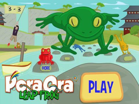 Pora Ora Leapfrog: free multiplication game.