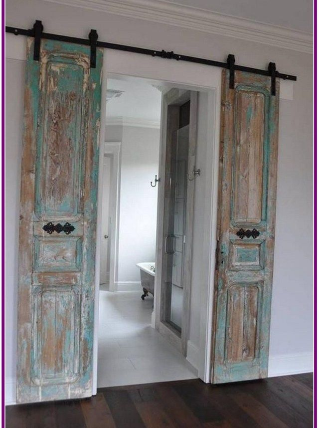 28 Awesome Bedroom Door Decoration Ideas Zasuvacie Dvere