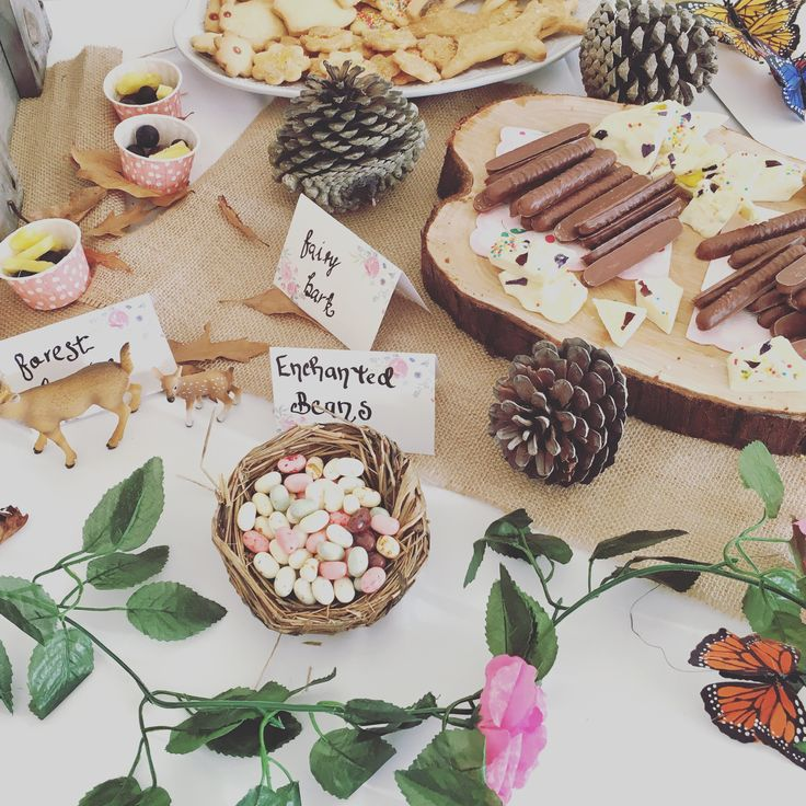 Pop Roc Parties Blog | Woodland Fairy Party Food