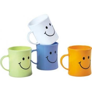 Kids childrens plastic mugs with handle for hot cocoa in for Mug handle ideas