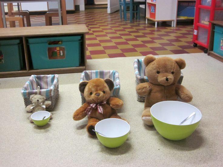 Thema: Goudlokje en de drie beren   Klasblog van juf Cindy