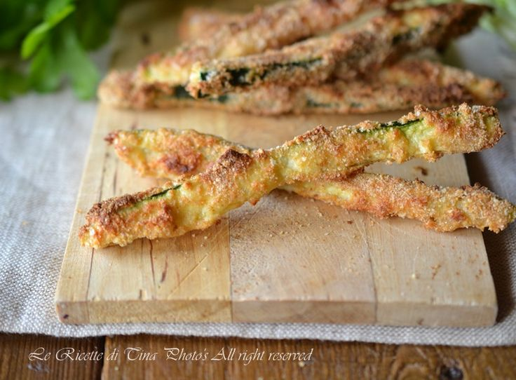 Zucchine impanate al forno