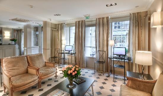 Hotel Relais Bosquet Paris.  The definition of Boutique hotel.
