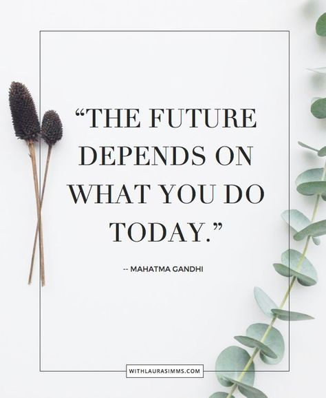 """We all need a little motivation now and then. Personal Branding is hard. But as Mahtma Gandhi would say """"the future depends of what you do today."""" Here a few quotes to motivate you to taking the next step in progressing your career"""