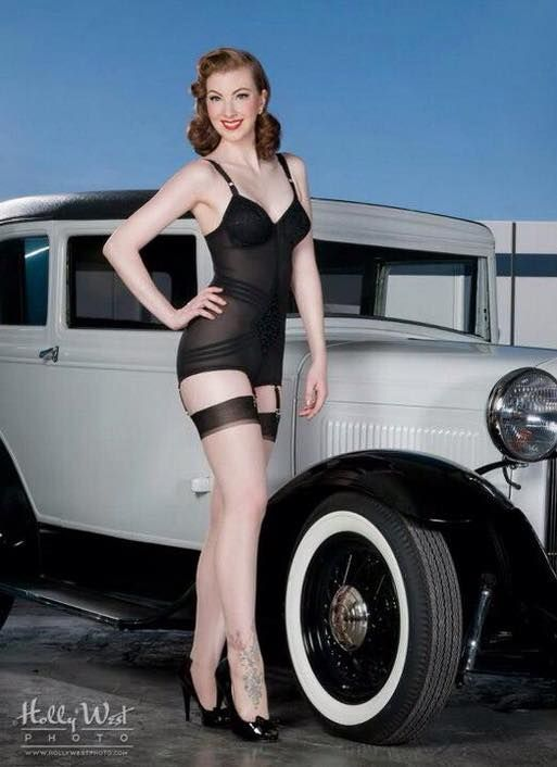 Best Vintage Pin Ups And Cars Images On Pinterest Pin Up