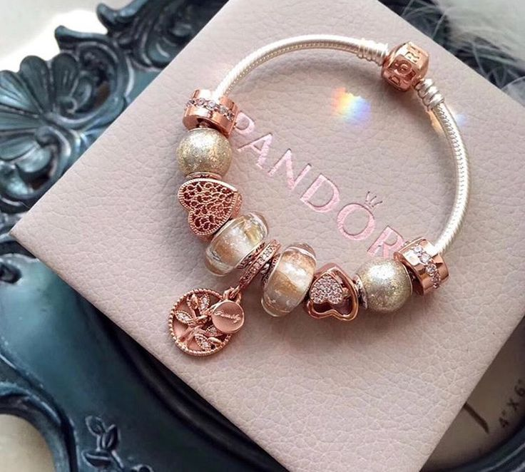 p pandora bracelet gold charm bangles bangle rose
