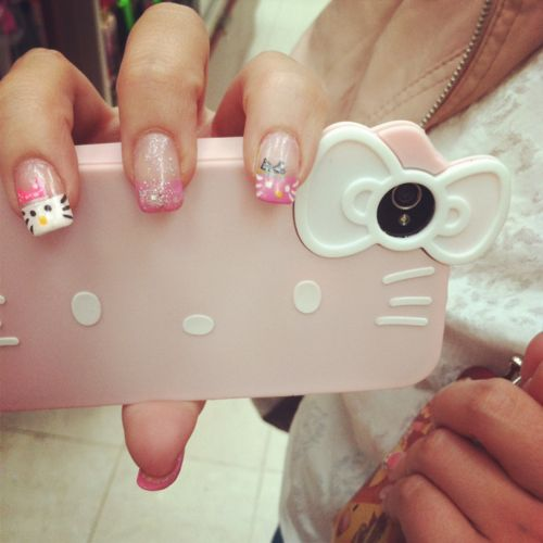 #hello kitty #case #cute #iphone case