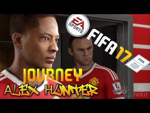 [# 5] Gameplay : FIFA 17 - The Journey - Alex Hunter - Sparing z Borussi...