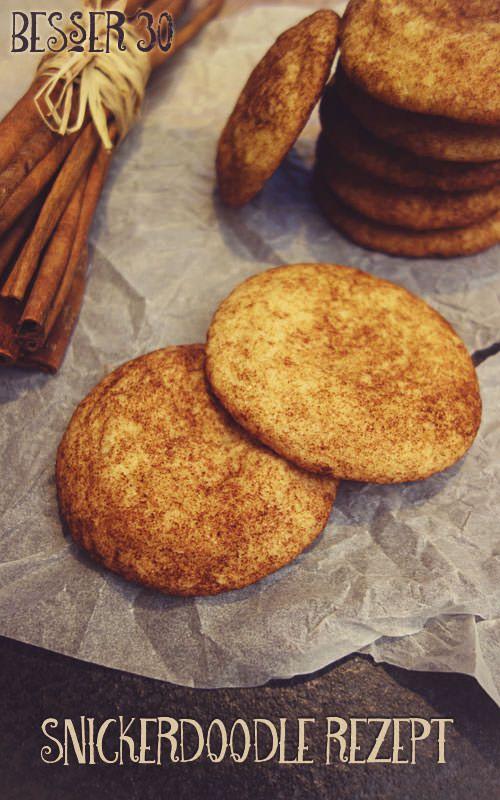 Zimtkekse aus Amerika - Snickerdoodles Cookies