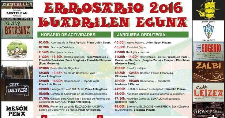 San Vicente vive este domingo 2 de octubre 12 horas de fiesta vasca con feria agrícola