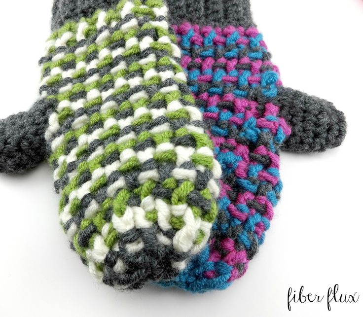 Awesome Free Crochet Pattern For Mittens Pictures - Easy Scarf ...