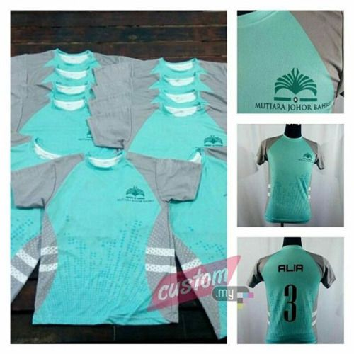 T-shirt fullprint @ Jersi . Nahh..hakak tunjuk design customer...