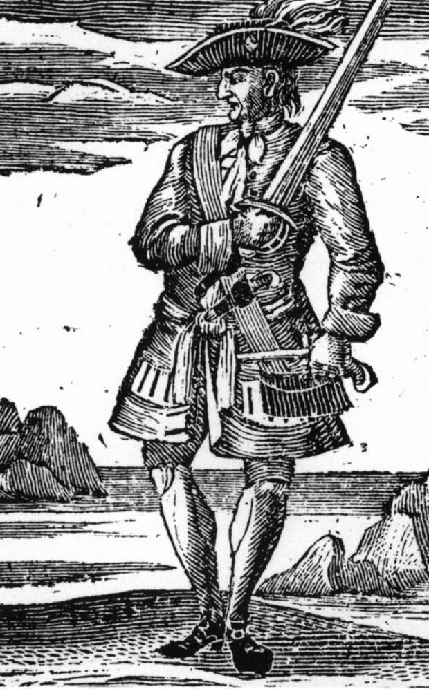 """""""Calico Jack"""" Rackham had been Charles Vane's quartermaster, just like in Black Sails. But he became captain when the crew voted Vane out. Rackham took over and filled the Ranger's hold with treasure, then came into Nassau to be pardoned for the theft."""