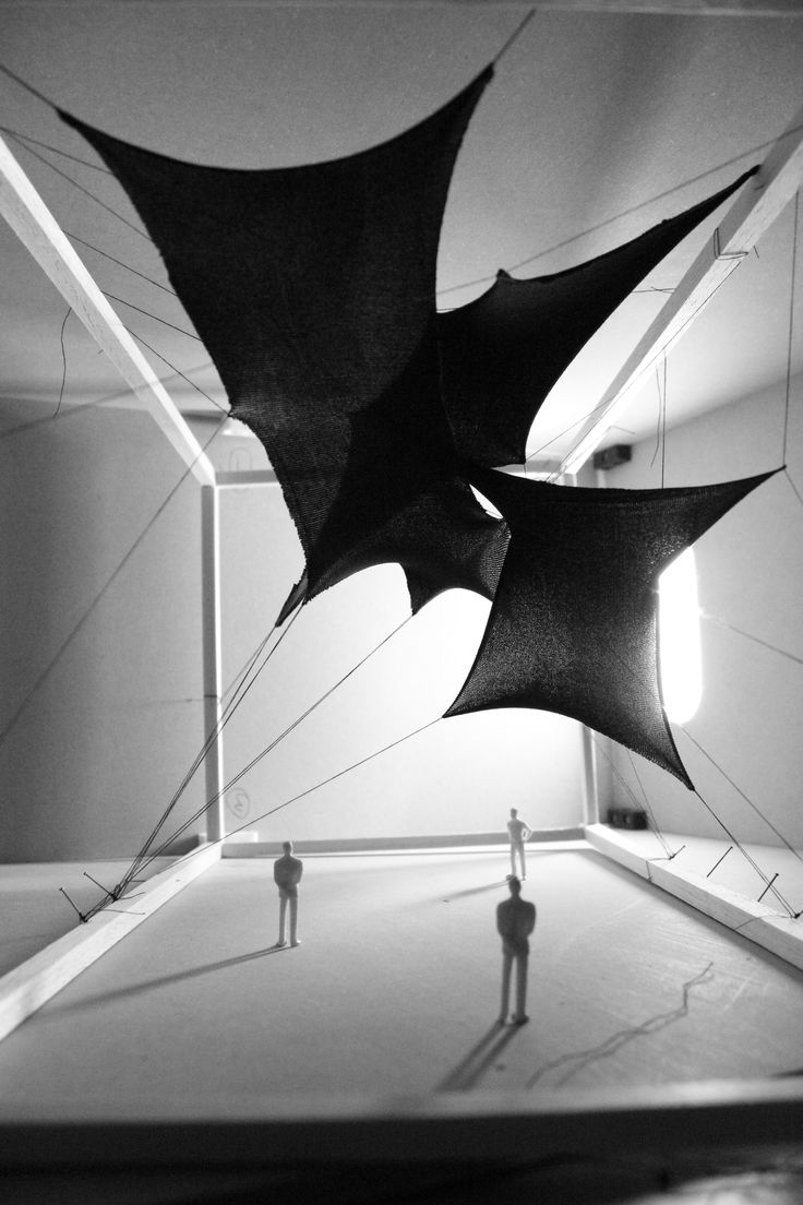 CONCEPT FOR TENSILE STRUCTURE DESIGN