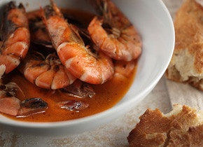 I wonder if this recipe for chili-roasted shrimp might taste a little like Chickie's & Pete's hot shrimp...