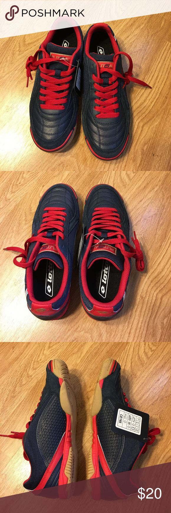 NWT Lotto soccer sneakers Brand new Lotto soccer sneakers Lotto Shoes Athletic Shoes