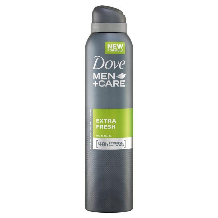 Dove Men+ Care Extra Fresh Aerosol Anti-Perspirant Deodorant 250ml - Pack of 3