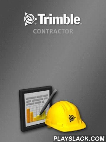 Trimble Contractor  Android App - playslack.com , Trimble Contractor Are you buried in paperwork? Get rid of the hassle and start using Trimble Contractor for your construction business. Trimble Contractor brings the office to the field, giving you an affordable and easy way to manage common office tasks on a smartphone or tablet. And best of all, the data can be exported into your current accounting software! Visit construction.trimble.com/nopaper to see just how simple it is to use Trimble…