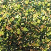 栄養満点☆大根かぶの葉のふりかけ