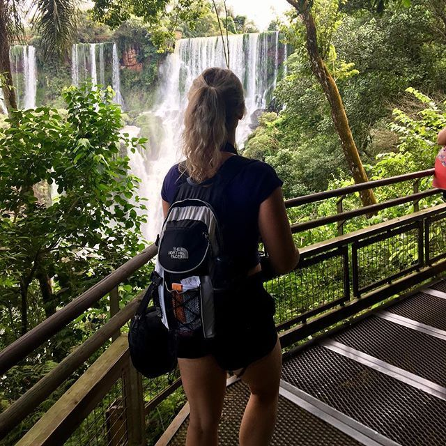 Exploring Iguassu National Park  You can spend hours just wandering around the beauty of nature . The Lower Trail gives you some of the very best views every way you look