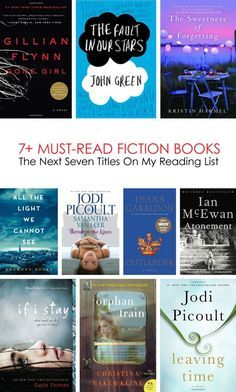 The Next 7 Must-Read Fiction Books On My List... #reading *Have you already ready any of these?
