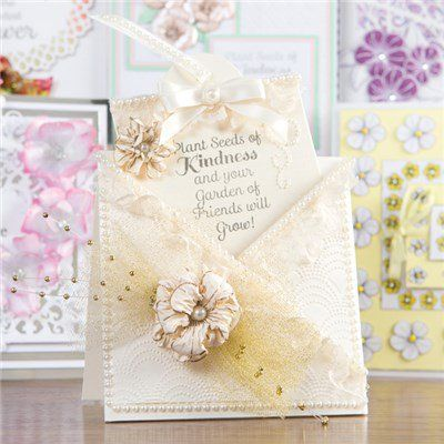 Honey Doo Crafts Friendship Forever Collection - Friendship Quotes and Trio of Flowers - 9 Elements (345695) | Create and Craft