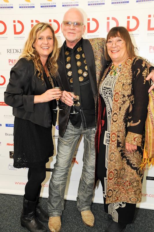 Tanya Carlson, Nick Huxley and Hilary Alexander at #iDFW 2012
