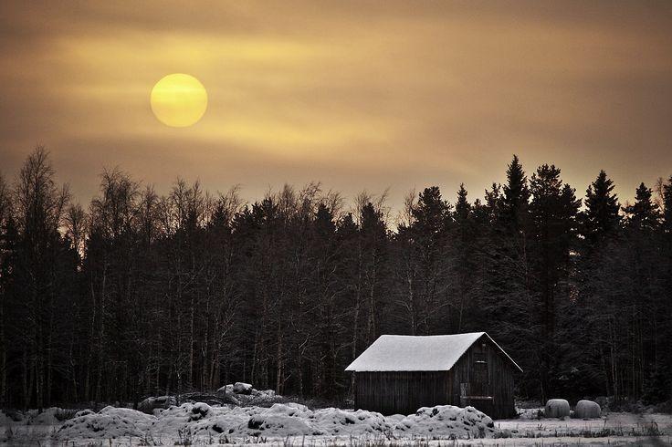 Finland / Kiiminki / -27celsius / 19.1 2016