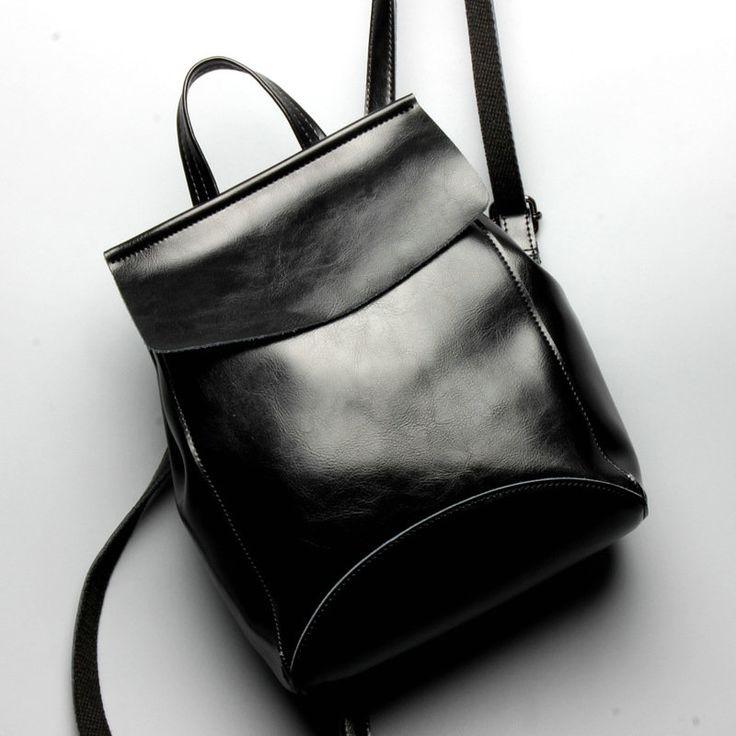 Clásico mochila de cuero mujer mochilas piel pequeñas vintage con gran capacidad [AL93182] - €52.21 : bzbolsos.com, comprar bolsos online