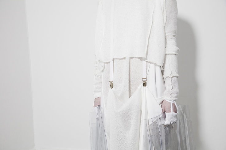 BEATE GODAGER // AW12WHITE #beategodager #womanswear #aw12white #scandinavian #fashion #conceptual #campaign