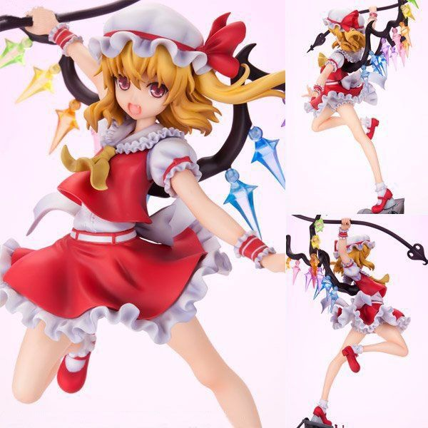 """39.99$  Buy here - http://aigxt.worlditems.win/all/product.php?id=32788496618 - """"Free Shipping 10"""""""" Touhou Project Anime Sister of the Devil Flandre Scarlet Boxed 24cm PVC Action Figure Collection Model Doll"""""""