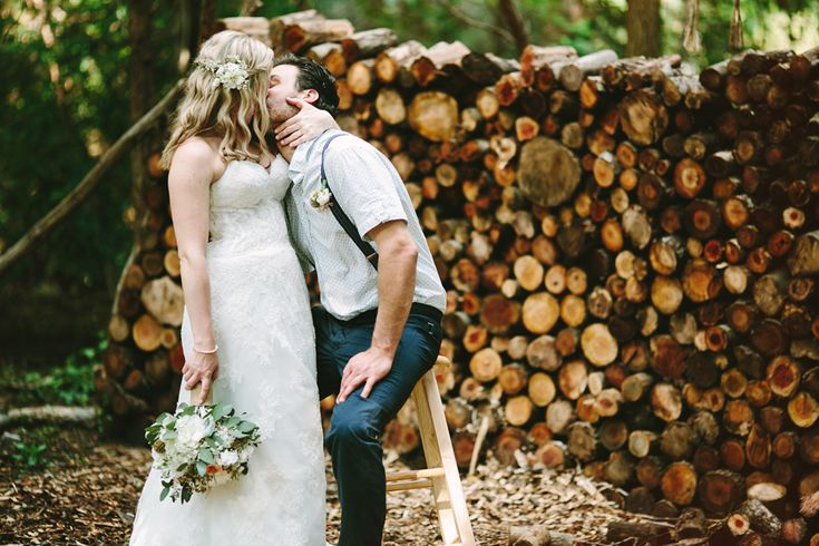 Michelle and Jimmy . a rustic chic backyard wedding