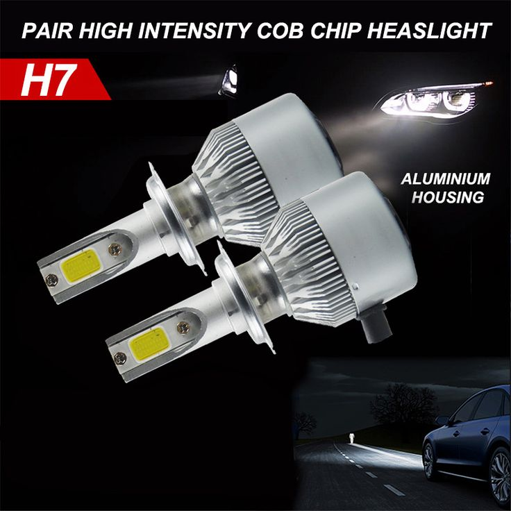 COB Chip 30W H7 Auto Headlight LED Car Headlight For Car Truck