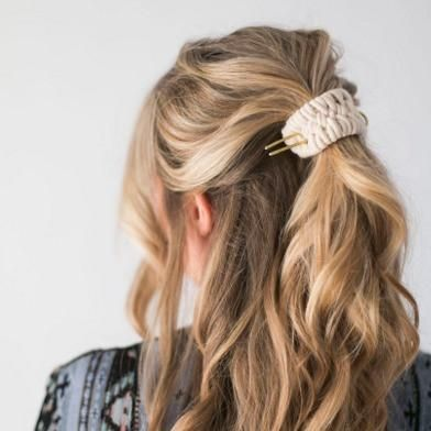 CA macht + Zelma Rose Woven Hair Cuff   – || hair ||