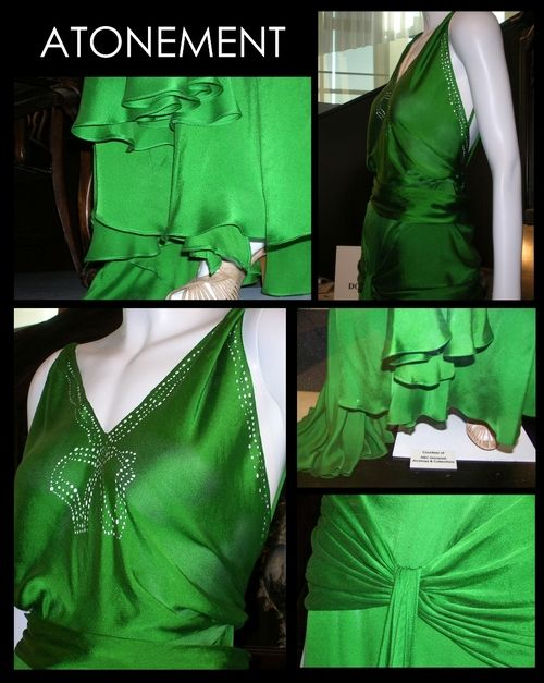 green dress from Atonement