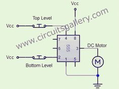 Automatic water tank level controller motor driver circuit  Engineering project without Microcontroller