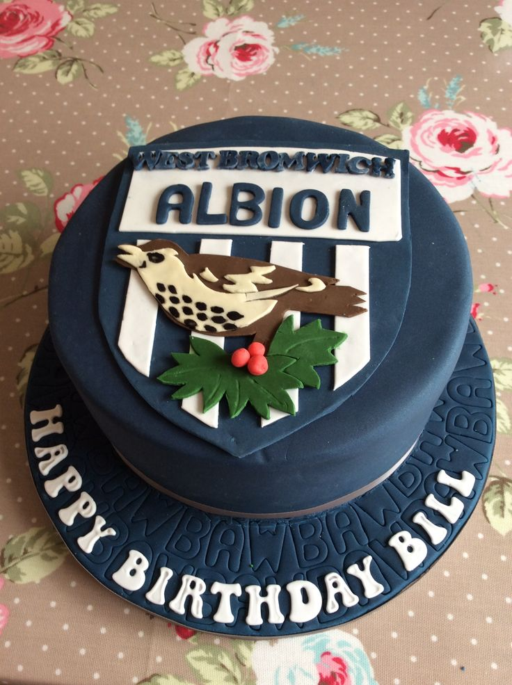 West Bromwich Albion Cake Cakes Pinterest West