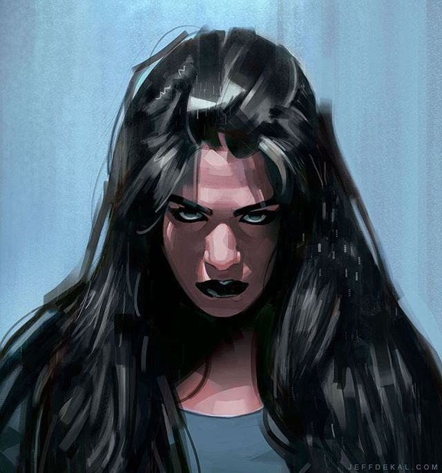 Jessica Jones detail by Jeff Dekal