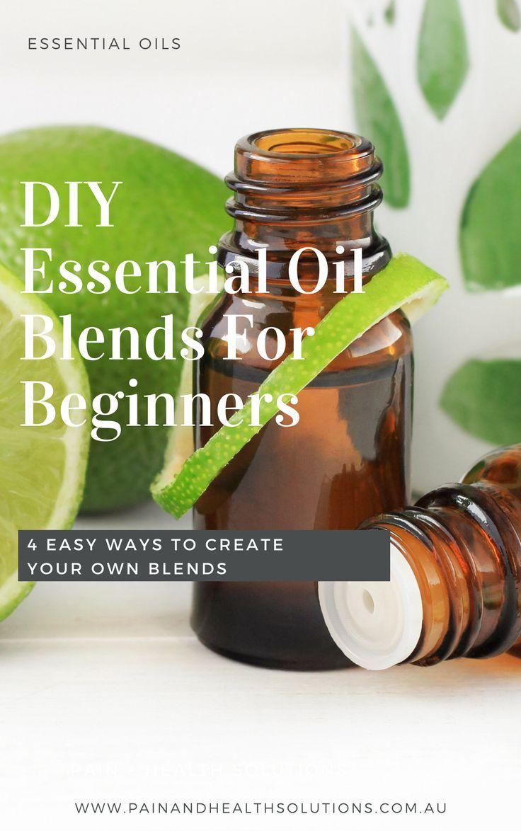 Diy Essential Oil Blends For Beginners In 2020 Diy Essential