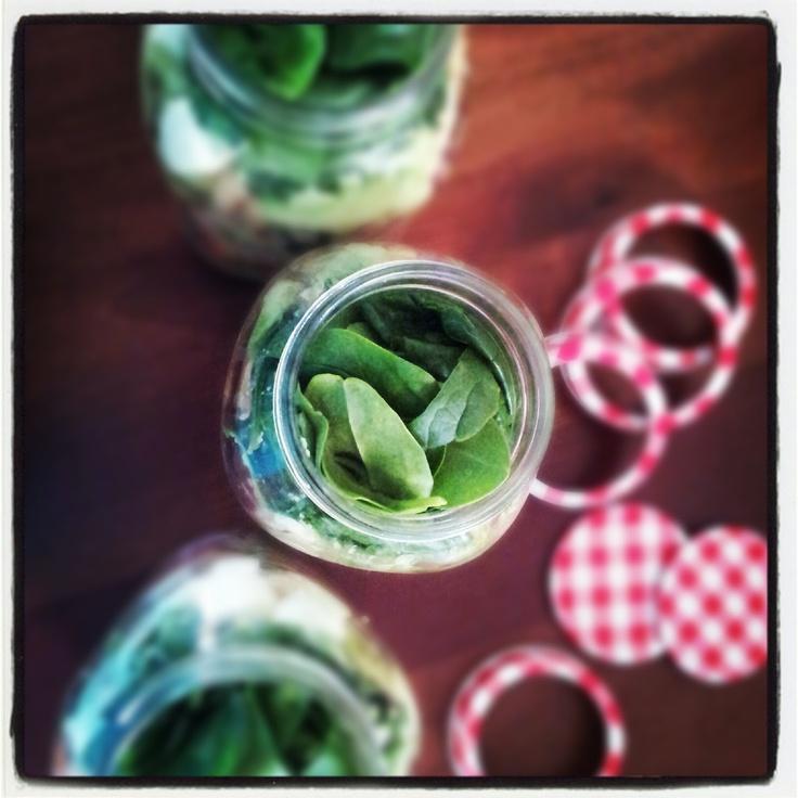 Mason jar salad by Love The Taste