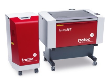 Speedy 300 C02 Laser Engraving, Cutting, and Marking System. #TrotecLaser