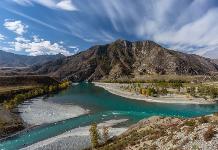 The confluence of Altay rivers Chuya and Katun by Mikhail Polyakov on 500px