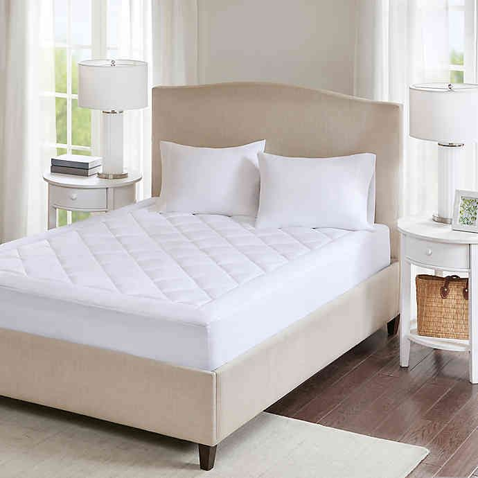 Sleep Philosophy 3m Serenity Waterproof Mattress Pad Bed Bath