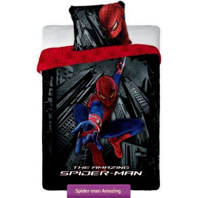 Amazing Spider-man kids bedding set  with Spiderman superhero   Pościel Spiderman Amazing #amazing_spiderman #kids_bedding #spider_man_bedding