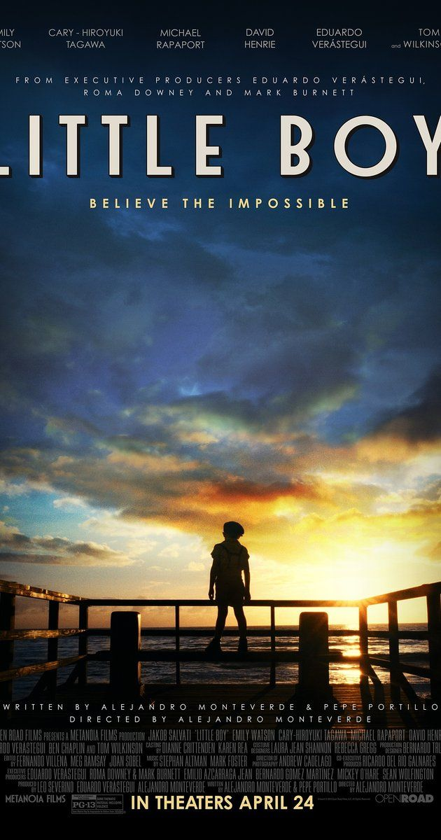 Little Boy (US, 2015 / Note: released in France in 2017) An undersized boy is convinced of his powers of belief and attempts to use them to bring his father home from service in WW2, where is a POW in the Philippines. This is about 3 times better than I expected and the child actor is amazing. 3.6 stars