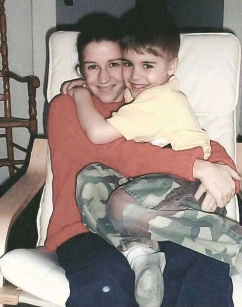 It's funny looks big at pattie's smile because her and Justin have the Same exact smile that Justin did in 2010