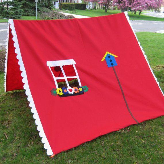 Clothesline tent.